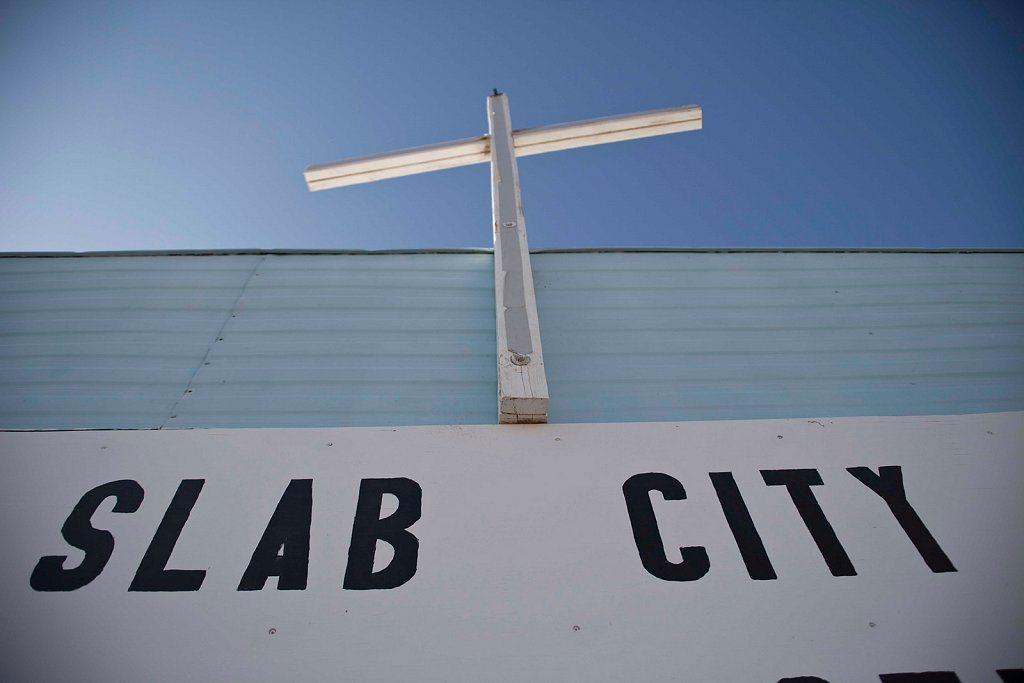 Slab City - Squatted Territory, California
